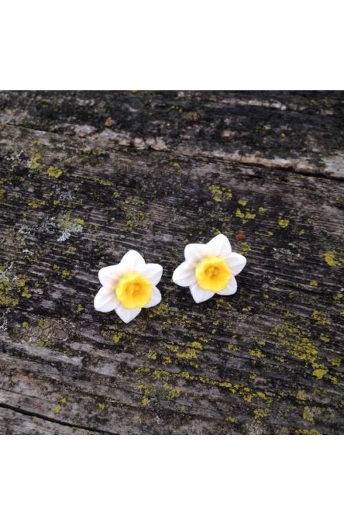 Orecchini Narciso a Perno