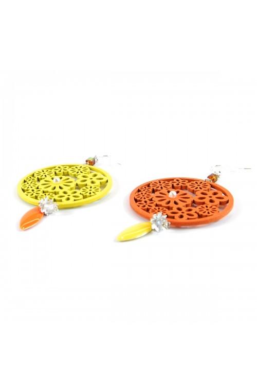 Orecchini Shabby Drops Orange & Yellow