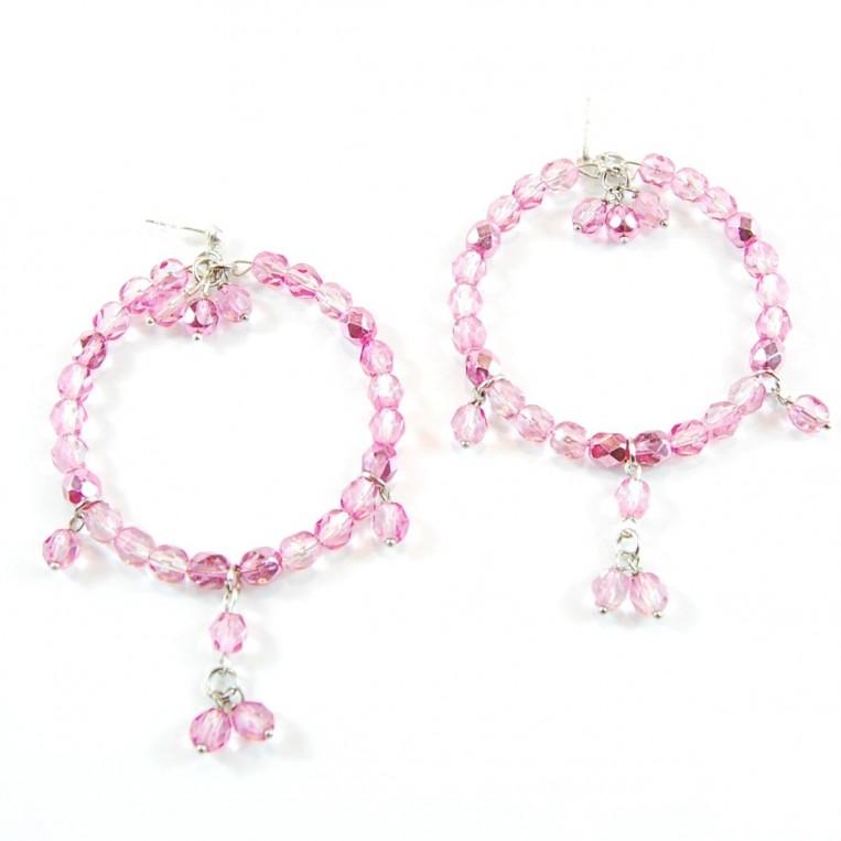 Orecchini Truly Pink