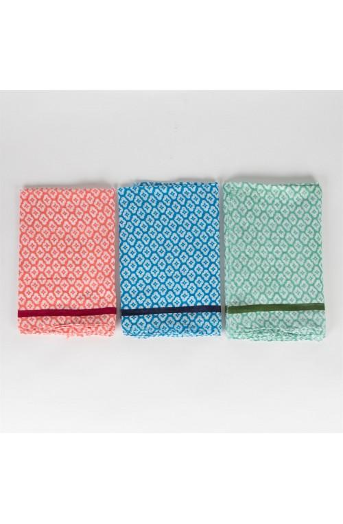 Sciarpa Cotone Geometric