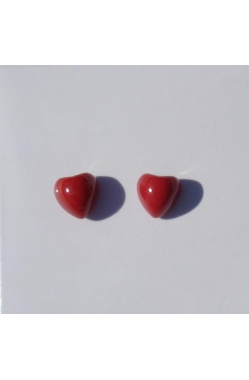 Orecchini Red Heart