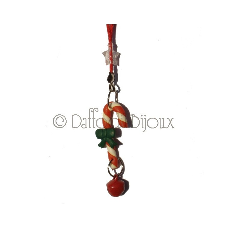 Charm Candy Cane