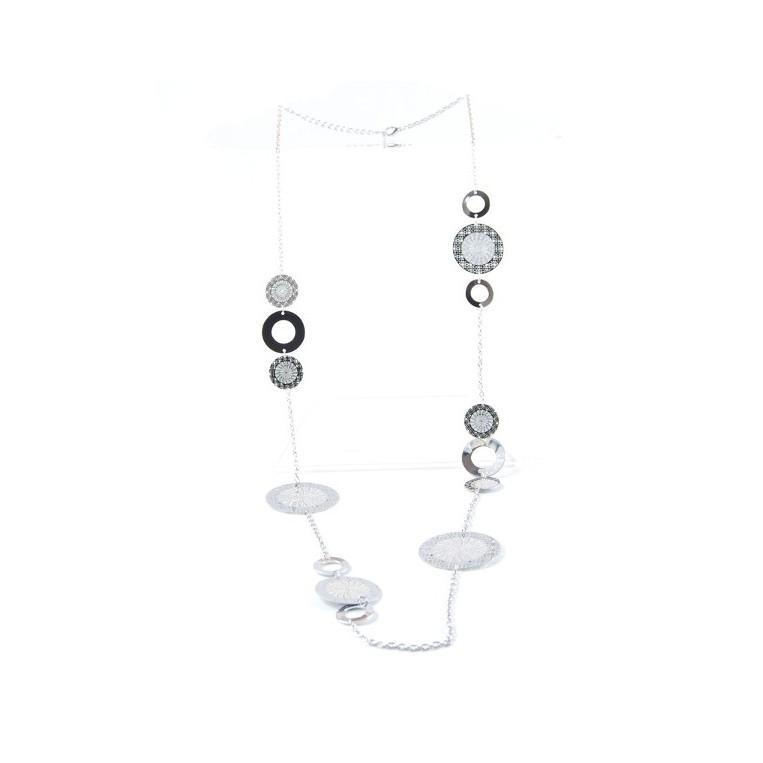 Collana Optical Silver
