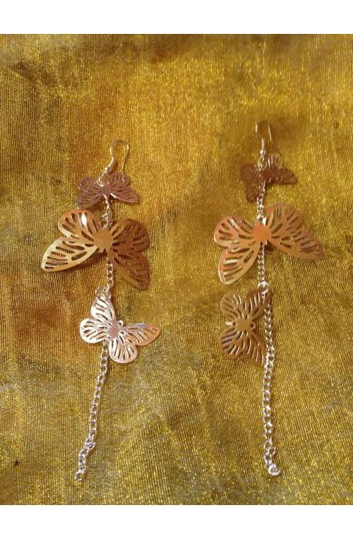 Orecchini Diving Butterflies