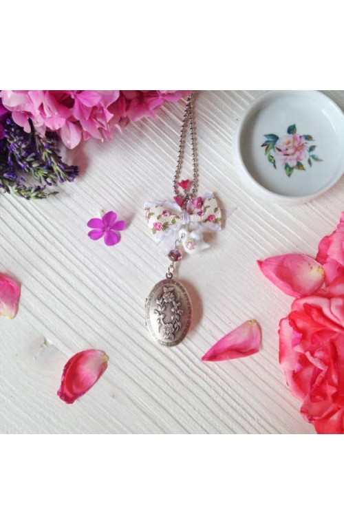 Collana con Profumo Solido Tea Party