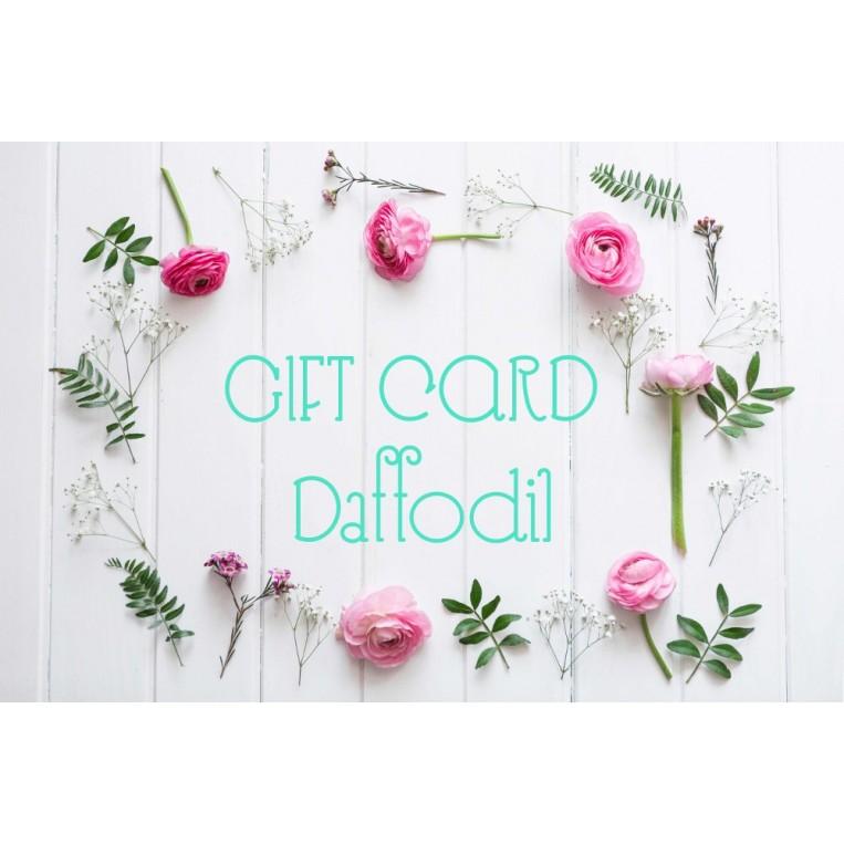 Gift Card Daffodil