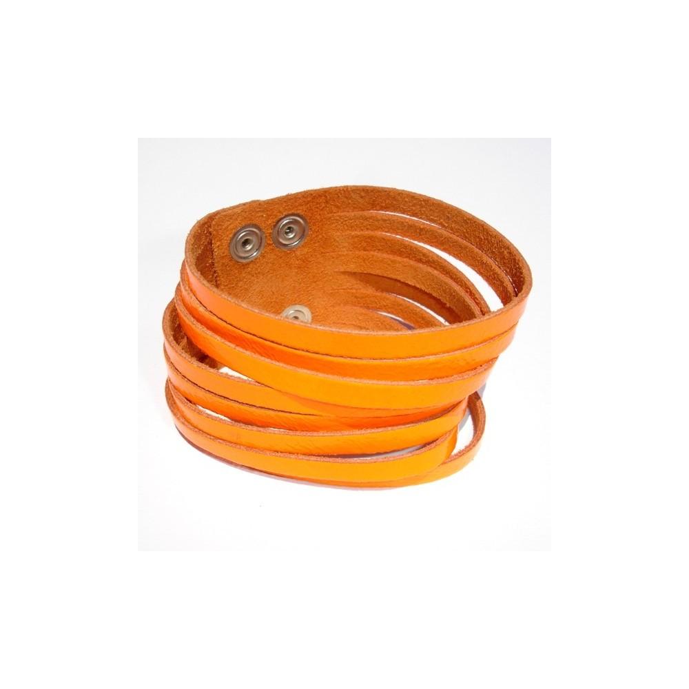 Bracciale Tear Neon Fluo Arancio