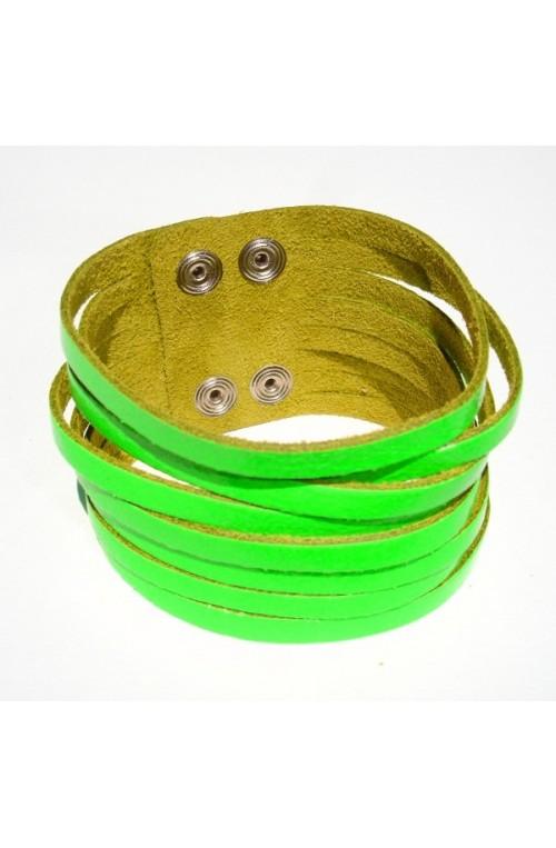 Bracciale Tear Neon Fluo Verde