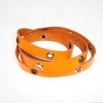 Bracciale Studs Neon Fluo Arancio