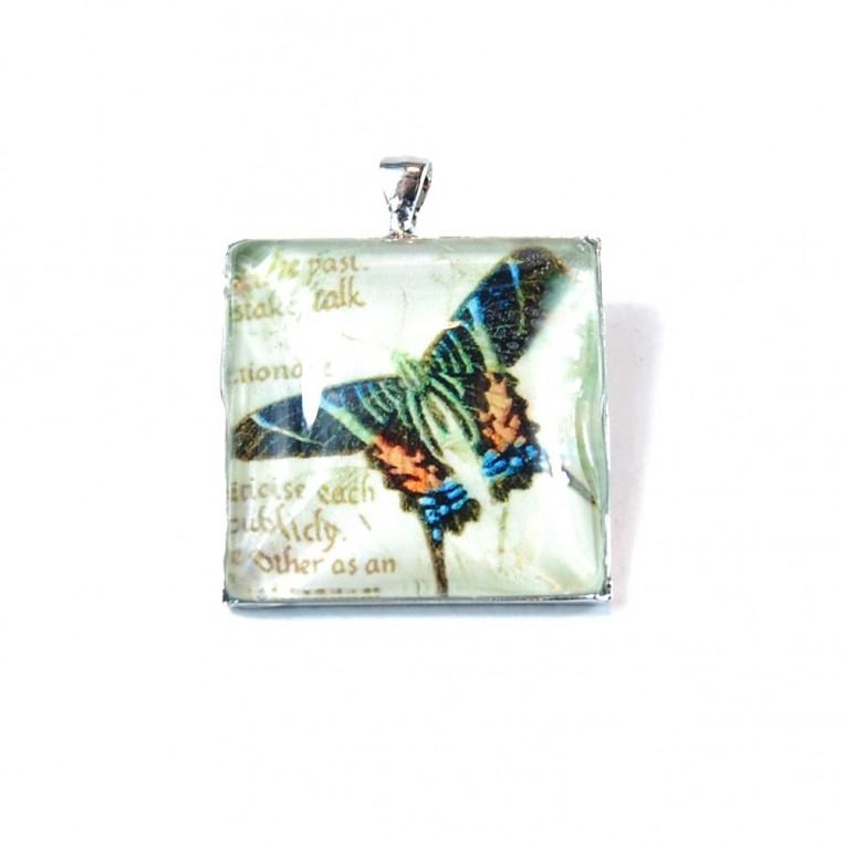 Ciondolo Farfalla e Libro