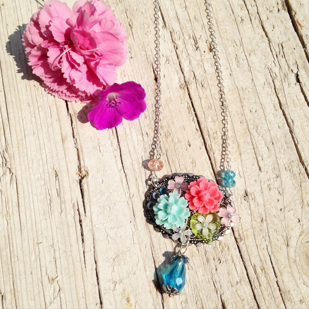 Collana Drops of Flowers