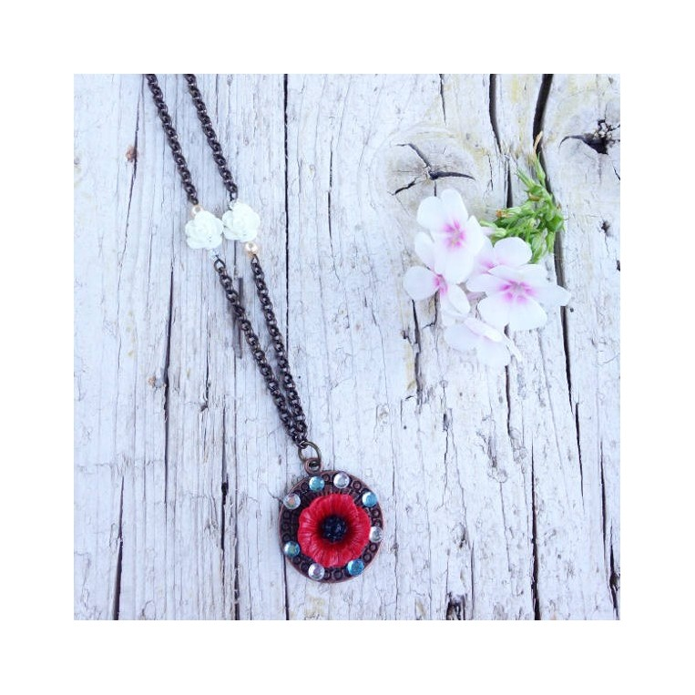 Collana Vintage Poppy