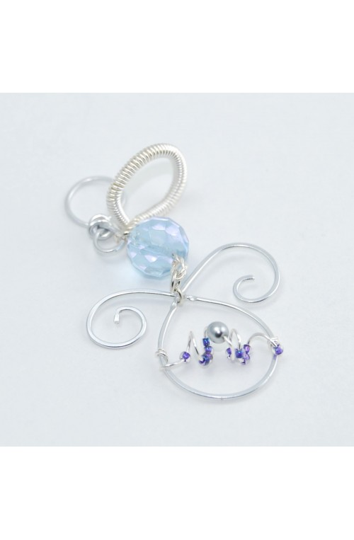 Collana Angelino Bluey