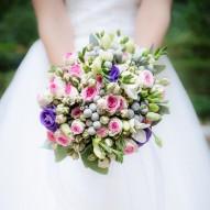 Ciondolo per bouquet personalizzato con foto