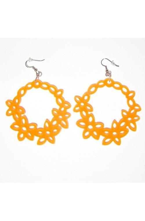 Orecchini Clearness Arancio
