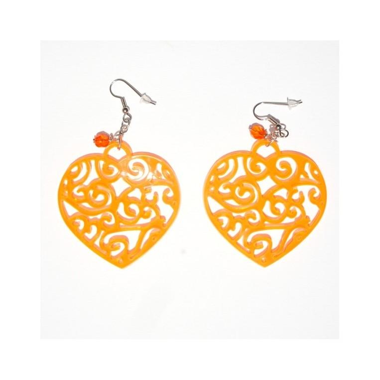 Orecchini Devotion Arancio