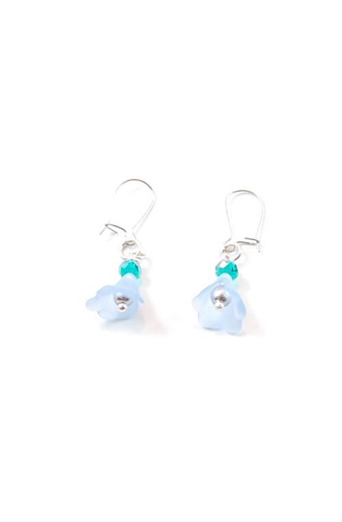Orecchini Tiny Blossom Azzurri